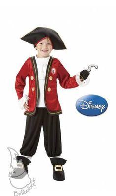 Disfraz Infantil de Capitán Garfio de Disney