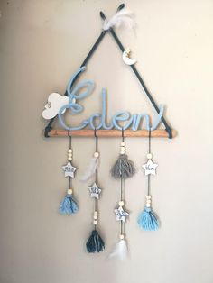 decorztion tipi mural - You are in the right place about diy Here we offer you the most beautiful pictures about the diy - Wire Crafts, Diy Home Crafts, Diy Crafts To Sell, Girl Baby Shower Decorations, Baby Decor, Diy Para A Casa, Dream Catcher Decor, Baby Diy Projects, Diy Bebe