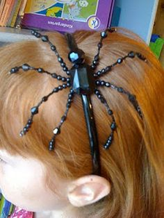 how to make a spider headband