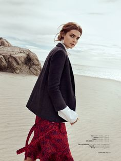 Costume Magazine September 2017 Gertrud Hegelund by Janne Rugland - Fashion Editorials Fashion Photography Poses, Editorial Photography, Glamour Photography, Lifestyle Photography, Lund, Strand Editorial, Fashion Shoot, Editorial Fashion, Beach Editorial