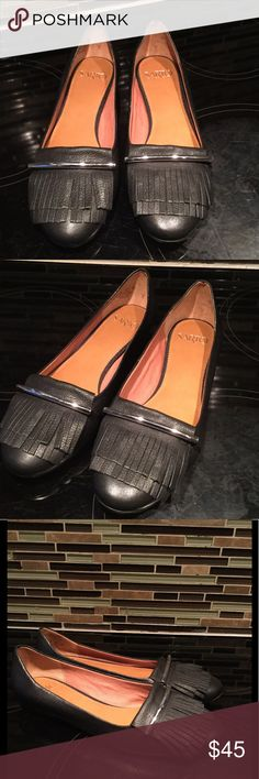 Franco Sarto NWT Leather Fringe Flats Size 8 1/2 Brand new beautiful soft leather flats. New with tags Franco Sarto Shoes Flats & Loafers