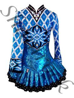 Shamrock Stitchery 2013 Irish Dance Solo Dress Costume