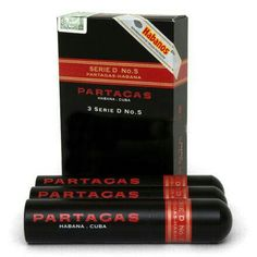 Partagas Series D No. 5 Tubo Cigars