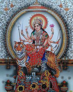 Maa Durga Photo, Durga Maa, Durga Goddess, Vaishno Mata, Kali Puja, Hindu Mantras, Yoga Mantras, Lakshmi Images, Baby Girl Images