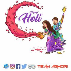 Are you looking for wishing this holi different ways ? Celebrate Happy Holi with Love Couple Name Editor. Holi Wishes Images, Happy Holi Images, Holi Messages In English, Happy Holi Picture, Happy Holi Wallpaper, Holi Pictures, Holi Celebration, Happy Woman Day, Name Art