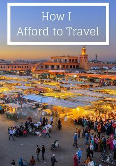 How to Afford to Travel – We know travel isn't cheap — especially for those with globetrotting aspirations. But don't feel too discouraged; it IS possible to afford a bucket-list trip… if you know some money-saving shortcuts. We shows you eight ways to work the system.