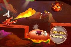 Download Rayman Fiesta Run Android Game for Free -  http://androidhackers.net/rayman-fiesta-run/