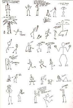 stick figures - Google Search