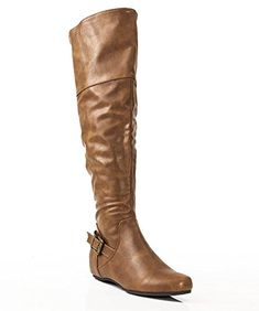 Soda Faux Leather Round Toe Knee High Slouchy Boots Review