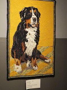 Beautiful dog rug