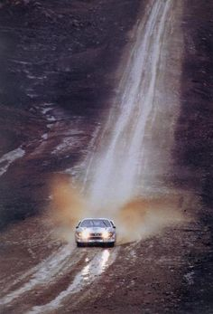 Bring on the puddles: Lancia 037 Group B