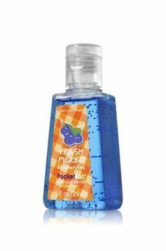Bath & Body Works Fresh Picked Blueberries Pocketbac Anti-bacterial Hand Gel 1fl. Oz/29ml by Bath & Body Works. $1.39
