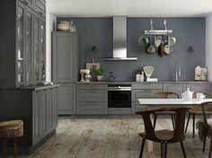 Ponte kitchen - Country kitchen for modern living - Kvik. Cool Kitchens, Interior, Home, Kitchen Cabinets, Cabinet, Dansk Design, Kitchen On A Budget, Kitchen, Country Kitchen