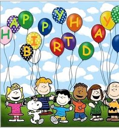 Happy Birthday Snoopy Images, Peanuts Happy Birthday, Happy Birthday Minions, Happy Birthday Pictures, Birthday Fun, Birthday Posts, Happy Anniversary Wishes, Happy Birthday Wishes Cards, Happy Birthday Celebration