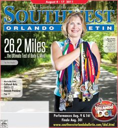 Our Aug. 4, 2011, cover ... Wintermere Pointe resident Kay Ownby, then 54, completed 61 marathons and was just two states shy of running a marathon in all 50 U.S. states. Running marathons increased her self-confidence and allowed her to prove to herself that she could do whatever she set out to do. #tbt