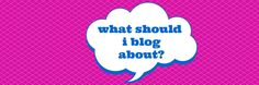 What should I blog about? Three blog post ideas to kickstart your brainstorming. #blogging #contentmarketing #content #blogs How To Start A Blog, How To Get, Step By Step Instructions, Content Marketing, Helpful Hints, Blogging, About Me Blog, Social Media, Ideas