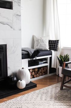 Merveilleux A Cozy Fall Home Tour. Fall Living RoomLiving ...