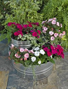 SunPatiens® Tiered Planter DIY
