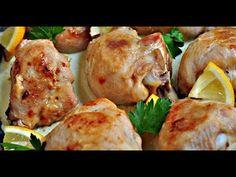Курица в лимонном соусе! Как приготовить маринад для мяса.Курица в марин...