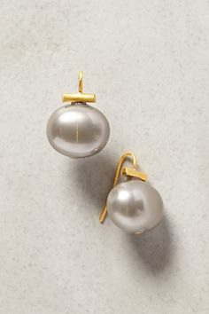 Pearl Infatuation Earrings by Catherine Canino #anthrofave