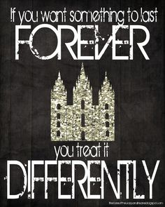 Its Our Life and Life is Good: If you want something to last forever, you treat it differently!