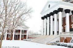 Snow at the University of Virginia Part II   Samantha Brooke Photography