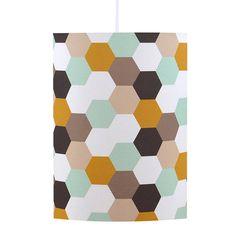 Handmade Hexagons Geometric Lampshade