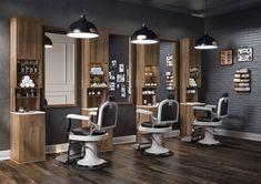 Pietranera Barberchair - Classic 560 - Black - CDE Salondesign