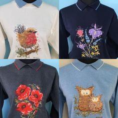Country Swirls – Country Swirls by Sophie Swirls, Shopping Bag, Collars, Graphic Sweatshirt, Country, Sweatshirts, Sweaters, How To Make, Bags