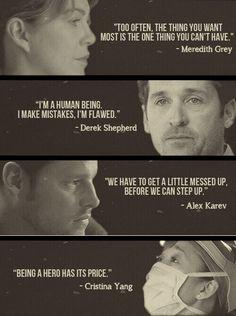 Greys Anatomy Alex Karev, Greys Anatomy Frases, Greys Anatomy Episodes, Greys Anatomy Funny, Grey Anatomy Quotes, Greys Anatomy Couples, Tv Show Quotes, Movie Quotes, Life Quotes