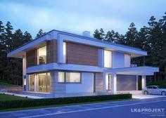 Projekty domów LK Projekt LK&1164 zdjęcie wiodące