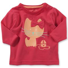 NAME IT Baby Langarmshirt, name it, pink - myToys.de