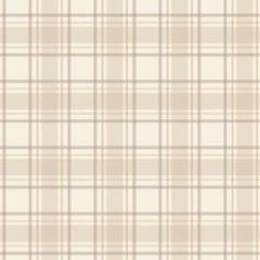Tartan Wallpaper Neutral / Beige / Cream (ILW980024)