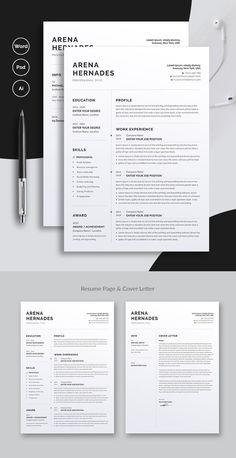 Cover Letter Design, Cover Letter For Resume, Cover Letter Template, Modern Resume Template, Cv Template, Resume Templates, Cv Words, Cv Design, Creative Resume