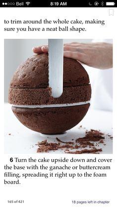 Sphere cake tip!