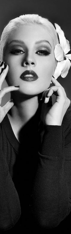 Christina Aguilera by Jake Bailey