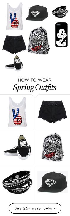 """Urban"" by dreamer04 on Polyvore featuring T By Alexander Wang and Vans"
