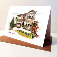 Set of Personalised Christmas Cards Personalized Greeting Cards, Christmas Cards, Christmas E Cards, Xmas Cards, Christmas Letters, Merry Christmas Card, Christmas Card Sayings