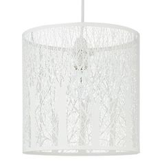 Buy White John Lewis & Partners Devon Easy-to-Fit Small Ceiling Shade from our Ceiling Lighting range at John Lewis & Partners. Chandelier Pendant Lights, Interior, Ceiling Lights, Devon, Ceiling, Light Fittings, Inspiration, Shades, Ceiling Shades