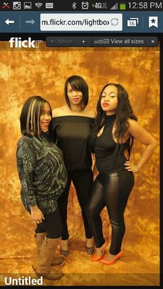 Nothing like mother and her beautiful daughters