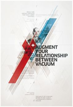 Graphic Design Inspiration #poster #vacuum #bold #cool