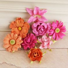 Soubrette flowers by Prima Marketing