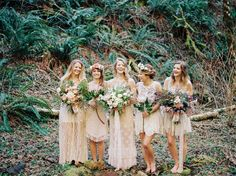 Choosing the right style when it comes to the look of your wedding can be tricky. Let's face it, the options are truly endless. Bohemian inspired wedding themes are trending this year because of their infamous relaxed and romantic ambiances. Brunch Wedding, Farm Wedding, Wedding Bells, Boho Wedding, Dream Wedding, Green Wedding Shoes, Wedding Colors, Wedding Flowers, Wedding Themes