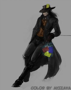 Chillout :: Pretty well-made Twisted Fate art. Twisted Fate, League Of Legends, Lol, Batman, Wellness, Summoning, Superhero, Guys, Pretty