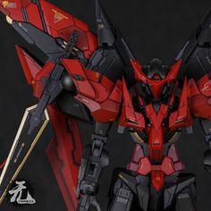 Custom Build: MG 1/100 Gundam Exia Dark Matter [Inifnite Dimension Conversion] - Gundam Kits Collection News and Reviews
