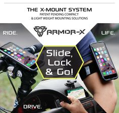 Armor-X iPhone Mount Case For Ride, Drive & Life | Indiegogo