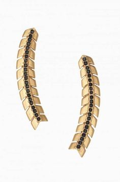 Gilded Path Ear Climbers - Gold by Stella & Dot