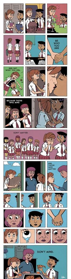 Such a true comic. I feel this way when i tell people i am bisexual