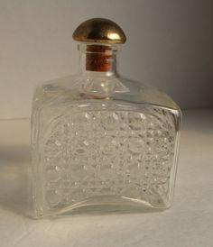 Vintage Barware Liquor Decanters, Vintage Glass Bottle, Glass Decanter, Liquor…