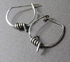 Anti Establishment EarringsSterling Silver by girltuesdayjewelry, $33.00